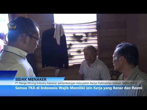 [MARAH..!!!] Saat Menaker Hanif Dhakiri Ciduk Tenaga Kerja Asing Ilegal