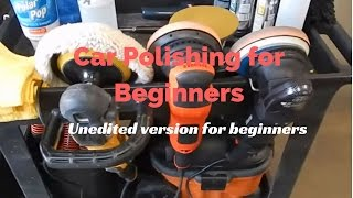 Car Polishing For Beginners : How to polish a car in