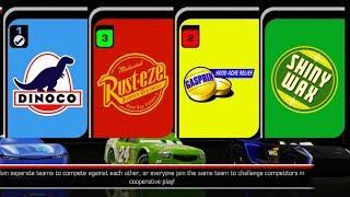 Cars 3: Driven to Win Gameplay Jackson Storm Rusteze Paint Job, Cam Spinner Dinoco
