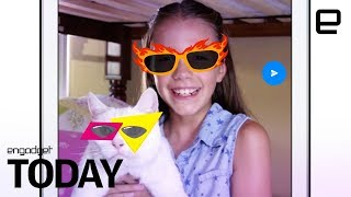 Facebook has a Messenger app for kids | Engadget Today