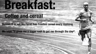 Mo Farah Diet Plan