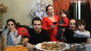 Heghineh Family Vlog #71 - Տարեգաթան - Heghineh Cooking Show in Armenian