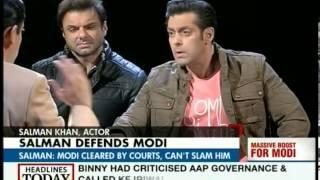 Modi needn't say sorry for 2002 riots: Salman