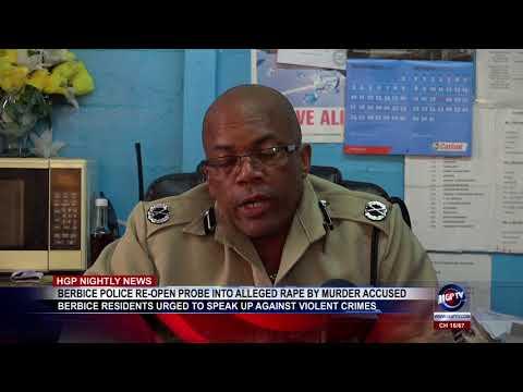 Xxx Mp4 BERBICE POLICE RE OPEN PROBE INTO ALLEGED RAPE BY MURDER ACCUSED 3gp Sex