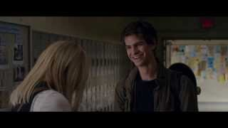 Romantic sence from the amazing spider man