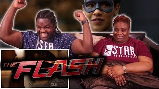 The Flash Season 4 Episode 16 : REACTION WITH MOM!!