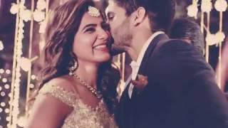 Naga Chaithanya & samantha Engagement Pics...Video...