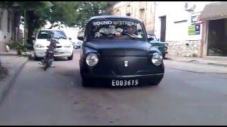 Fiat 600 Al Piso Y Con Sonido
