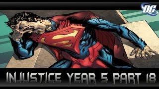 เปิดโปงบุรุษเหล็ก[Injustice Year5 Part18]comic world daily