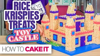 Rice Krispies® TOY CASTLE!   How To Cake It