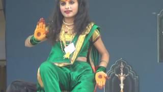 Pratibha niketan  school nanded State level dance performance