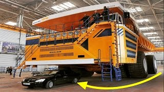 Top 10 Biggest Trucks In The World - Heavy Equipment - Largest Dump Trucks Compilation