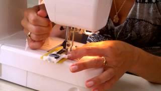 Как сделать петельку для пуговицы на швейной машинке