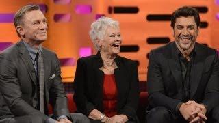 DANIEL CRAIG: Shirtless & Sexy James Bond (The Graham Norton Show)