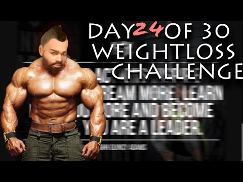 WHY I YOUTUBE - Day 24 OF 30 daY weight LOSS challenge - AROVIA.io