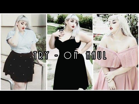 TRY-ON HAUL | Shein, Romwe & Fashion Nova CURVY | Boo