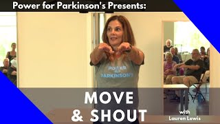 Power for Parkinson's Home Move & Shout Video #2