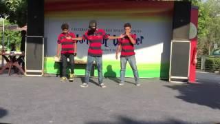 Indian boys dance