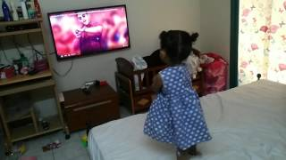 My daughter dance for block buster saarinodu song part 1
