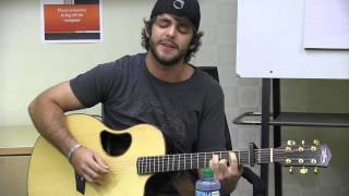 Thomas Rhett Performs If I Could Have A Beer With Jesus Live