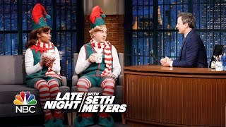 Two Elves Visit Late Night and Reveal a Naughty Secret