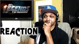 REACTION to DC's Legends of Tomorrow Episode 1 Pilot 1x1