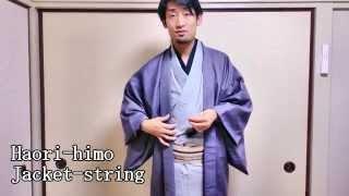 How to wear Kimono for men