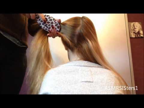 Xxx Mp4 ♥ ASMR Hair Brushing Making Ponytails Amp Braiding ♥ ZZzzzzzzz 3gp Sex