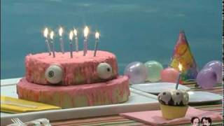 Happy Birthday Song ! Funny Singing Cake