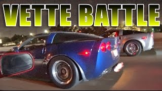 Vettes Attack TEXAS STREETS - Night of Street Racing