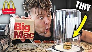 What Happens When You Put a BIG MAC in a Vacuum Chamber? *INSANE*