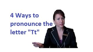 4 Ways to Pronounce Letter