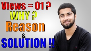 [Hindi-हिन्दी] Getting not Views From Youtube? Reason And Solution !! 2017
