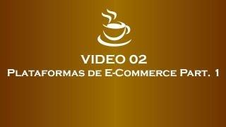 Café com E-Commerce - Plataformas de E-Commerce