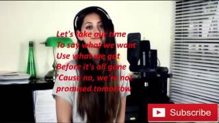 Jasmine Thompson - Like I'm Gonna Lose You [Lyrics]