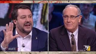 Matteo Salvini: 'Chi guarda questa trasmissione, anche dall'estero, deve sapere che in Italia ...