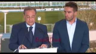 Presentación de Dani Carvajal en el Real Madrid 2013 | Daniel Carvajal's presentation on Real Madrid