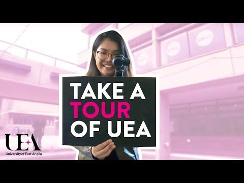 Let's Take A Tour   University of East Anglia (UEA)