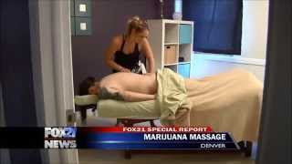 Denver spa uses cannabis for a more relaxing massage
