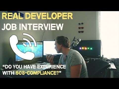 Xxx Mp4 What A REAL Web Developer Interview Is Like Front End 3gp Sex