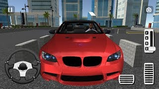 BMW CAR PARKING SIMULATOR M3 | Car Parking Games For Children - Kids Games To Play For Free