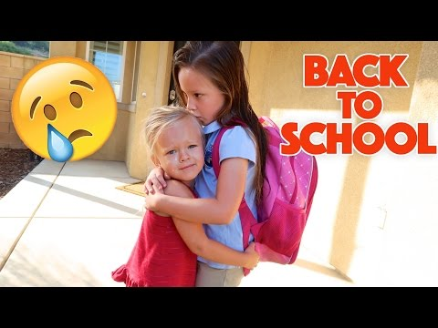 Xxx Mp4 EMOTIONAL BACK TO SCHOOL 😭 SISTERS SEPARATED 3gp Sex