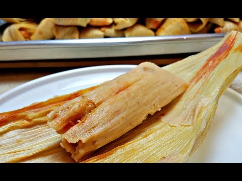 COOK WITH ME HOW TO MAKE TAMALES Bean and Cheese Tamales Recipe How to make Masa for Tamales