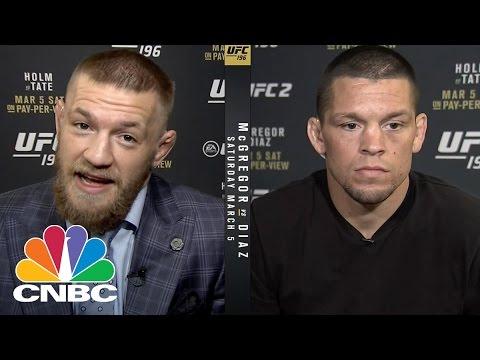 UFC's McGregor And Diaz Talk Trash And Money