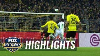 Borussia Dortmund vs. Werder Bremen   2017-18 Bundesliga Highlights
