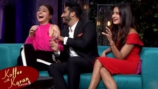 Katrina Kaif and Anushka Sharma on Koffee With Karan Season 5 – Bollywood Gossip