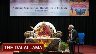 Inauguration of Seminar on 'Buddhism in Ladakh'
