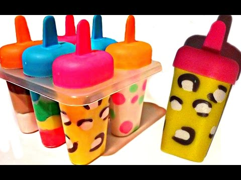 Xxx Mp4 How To Make Play Doh Ice Cream Popsicles With Molds Fun And Creative For Kids 3gp Sex