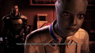 Mass Effect 3 | Liara Romance, All Scenes, Imported Save