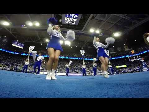 watch The University of Kentucky Cheerleaders performing their 2017 Nationals Routine. #GoPro